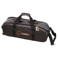 Hammer Triple Tote Black/Carbon Bowling Bags