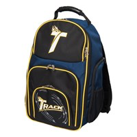 Track Premium Player Backpack Black/Navy/Yellow Bowling Bags