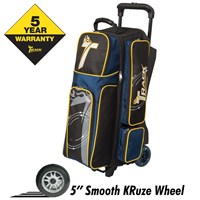Track Premium Triple Roller Black/Navy/Yellow Bowling Bags