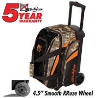 KR Cruiser Smooth Double Roller Camo Bowling Bags