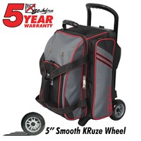 KR Lane Rover 2 (LR2) Double Roller Grey/Black/Red Bowling Bags