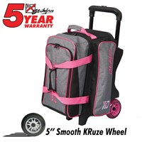 KR Krush Double Roller Stone/Pink Bowling Bags