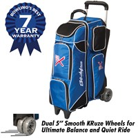 KR Strikeforce Royal Flush 4x4 Royal/Black Bowling Bags