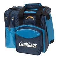KR Strikeforce Los Angeles Chargers NFL Single Tote Bowling Bags