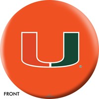 OnTheBallBowling University of Miami Bowling Balls