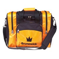 Brunswick Edge Single Tote Orange Bowling Bags