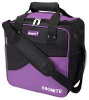 Ebonite Basic Single Deep Purple Bowling Bags