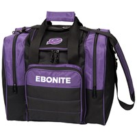 Ebonite Impact Plus Single Tote Purple Bowling Bags