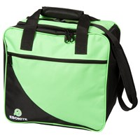 Ebonite Basic 1 Ball Tote Lime Bowling Bags
