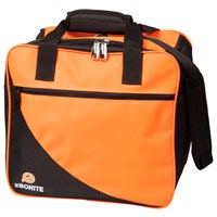 Ebonite Basic 1 Ball Tote Orange Bowling Bags
