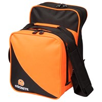 Ebonite Compact Single Tote Orange Bowling Bags