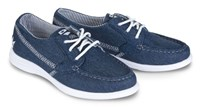 Brunswick Womens Karma Denim Bowling Shoes