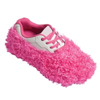 Robbys Fuzzy Shoe Cover Pink