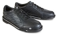 Brunswick Mens Team Brunswick Black Right Hand Wide Bowling Shoes