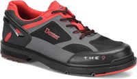 Dexter Mens THE 9 HT Black/Grey Right Hand or Left Hand Wide Width Bowling Shoes