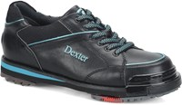 Dexter Womens SST 8 Pro Black/Turquoise Right Hand or Left Hand Bowling Shoes