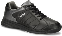 Dexter Mens Ricky IV Black/Alloy Wide Width Bowling Shoes
