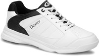 Dexter Mens Ricky IV White/Black Wide Width Bowling Shoes