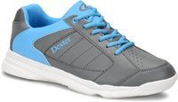 Dexter Mens Ricky IV Grey/Blue Bowling Shoes
