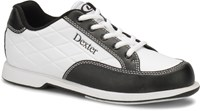 Dexter Womens Groove III White/Black Wide Width Bowling Shoes
