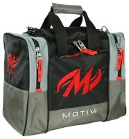 Motiv Shock Single Tote Black Bowling Bags