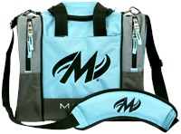 Motiv Shock Single Tote Cyan Bowling Bags