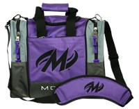 Motiv Shock Single Tote Purple Bowling Bags