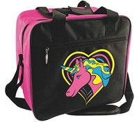 Classic Pink Unicorn Single Tote Bowling Bags