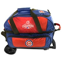 KR MLB 2 Ball Roller Chicago Cubs World Series Champs Bowling Bags