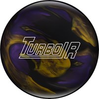 Ebonite Turbo/R Black/Purple/Gold X-OUT Bowling Balls