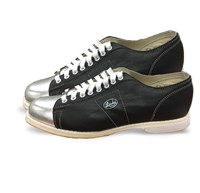 Linds SE Men Black/Silver Right Hand Bowling Shoes