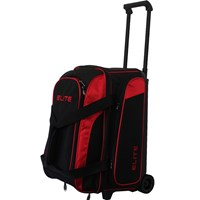 Elite Deuce Red 2 Ball Roller Bowling Bags