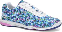 Storm Womens Istas White/Multi - ALMOST NEW Bowling Shoes