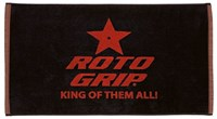 Roto Grip Woven Towel Black/Red - ALMOST NEW
