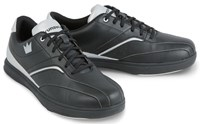 Brunswick Mens Vapor Black/Silver-ALMOST NEW Bowling Shoes