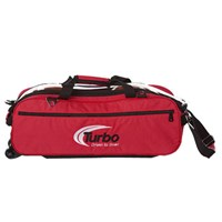 Turbo Express 3 Ball Travel Tote Red Bowling Bags