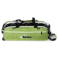 Turbo Express 3 Ball Travel Tote Lime Green Bowling Bags