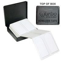 "Turbo Bowlers Tape White 1"" 40 Pc"
