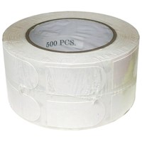 "Turbo Bowlers Tape White 1"" Roll/500"