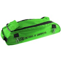 Vise 3 Ball Add-On Shoe Bag-Green Bowling Bags