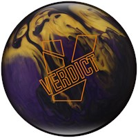 Ebonite Verdict Pearl Bowling Balls