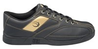 BSI Mens #571 Black/Gold Bowling Shoes