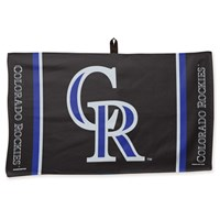 Master MLB Towel Colorado Rockies 14X24""