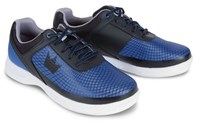 Brunswick Mens Frenzy Royal/Black-ALMOST NEW Bowling Shoes