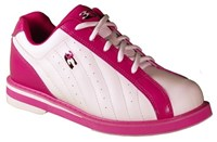 3G Womens Kicks White/Pink-ALMOST NEW Bowling Shoes