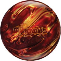 Columbia Nitrous Red/Gold Bowling Balls