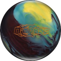 Columbia Nitrous Black Cherry/Yellow/Blue Bowling Balls