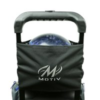 Motiv Stretch Add-A-Bag Black/Silver Bowling Bags