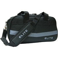 Elite 2 Go Tote Clear Top Plus Black/Grey Bowling Bag Bowling Bags