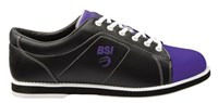 BSI Womens Classic Black/Purple-ALMOST NEW Bowling Shoes